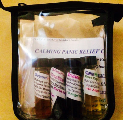 Calming Panic Relief/Diffuser Combo
