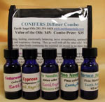 CONIFERS DIFFUSER OIL COMBO