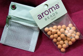 Sachet with AromaBeads Orange